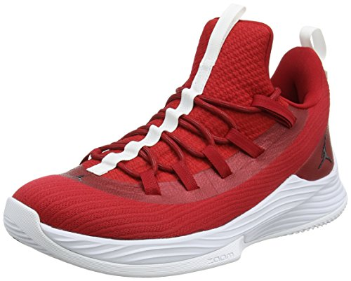 Nike Herren Jordan Ultra Fly 2 Low Basketballschuhe, Rot Gym Redblackwhite 601, 42 EU