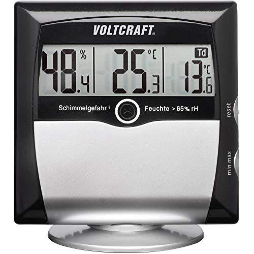 VOLTCRAFT MS-10 Luftfeuchtemessgerät (Hygrometer) 1% rF 99% rF Taupunkt-/Schimmelwarnanzeige