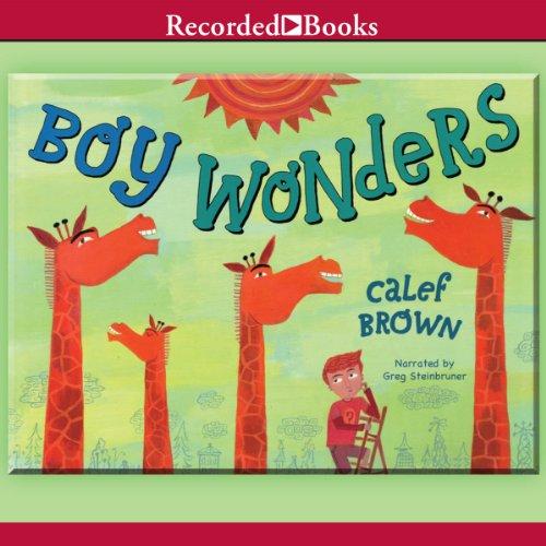Boy Wonders audiobook cover art