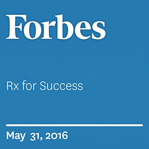Rx for Success audiobook cover art