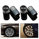 Coche Neumáticos Tapas para Válvulas, Coche Rueda Metal Tapones para Mercedes Benz AMG W204 W205 W176 W177 W212 W211 W210 GLC GLA E200L C200 Accesorios