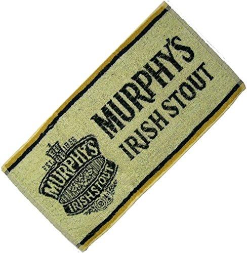 signs-unique Serviette De Bar Coton Bière Irlandaise Brune Murphys Irish Stout (PP crème)