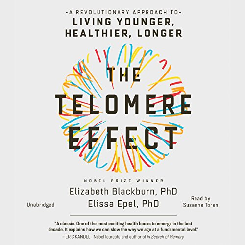 The Telomere Effect audiobook cover art