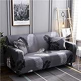 PPMP Sala de Estar Cubierta de sofá elástica con Todo Incluido Cubierta de sofá de celosía elástica Cubierta de sofá de sofá Inferior A23 4 plazas