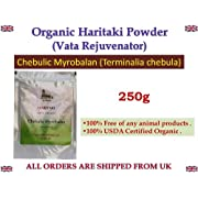 HARITAKI POWDER 100% USDA CERTIFIED ORGANIC - 250gm