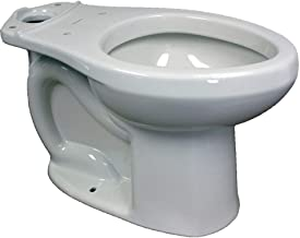 American Standard 3705.216.020 H2Option Dual Flush Right Height Toilet Bowl, White (Bowl Only)