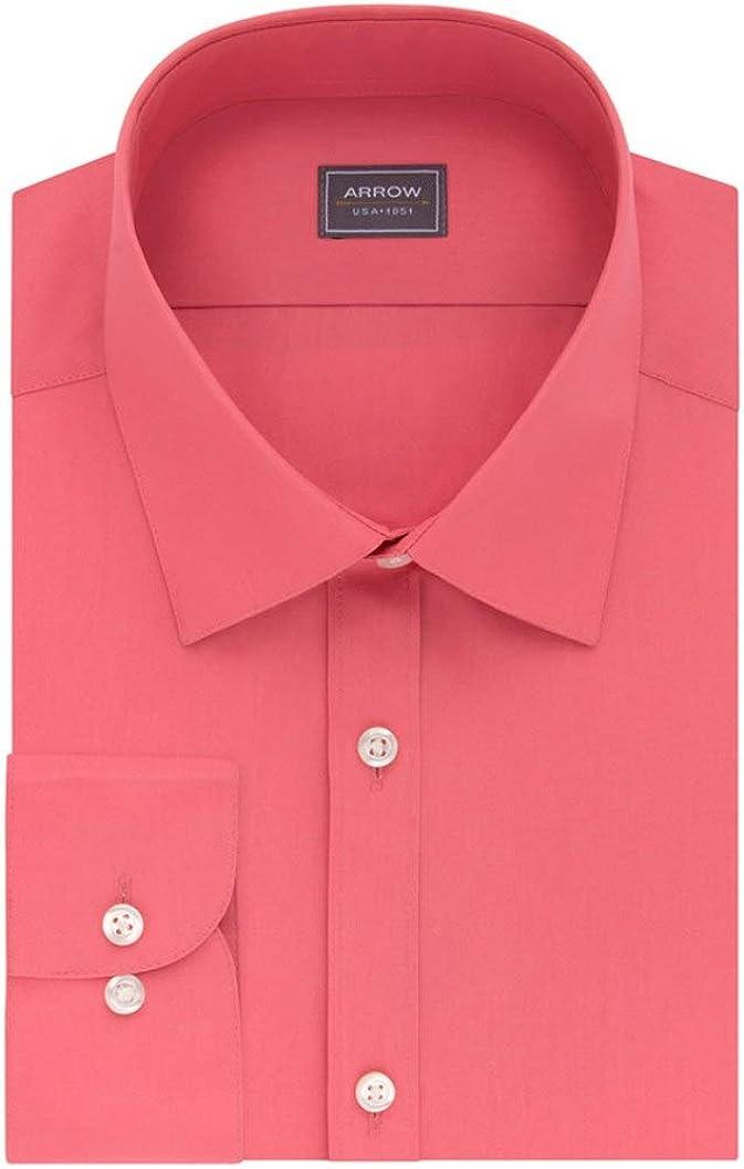 Arrow Mens Regular Fit Dress Shirt Long Sleeves