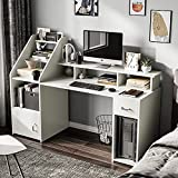 Itaar 64.5'' Large Computer Desk with Drawer, Storage...