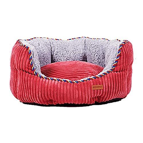 MASP Haustierbett Hundebett Katzenbett Hundebetten Hundebett Sofa Hundebett Herausnehmbar Und Waschbar Kleine, Mittlere Und Große Hunde Und Katzen Pet Schlaf-Rest-Game Pad Warm (Size : 90cm)