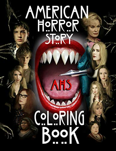 American Horror Story Coloring Book: Think Quickly, Training Yourself, Create To Develop Your Memory...