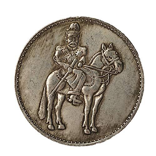 Xinmeitezhubao Münzsammlung Chinesische antike Silbermünze Sterling Silber Yuan Shikai Reiten Gedenksilbermünze Gedenkmünze