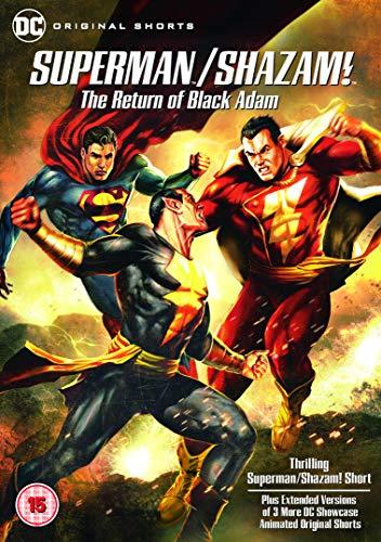 Superman/Shazam!: The Return Of Black Adam [DVD] [2019]