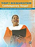 Top-Requested Contemporary Gospel Sheet Music: 10 Hits from the 1970s to Today (Easy Piano) (Top-Requested Sheet Music)