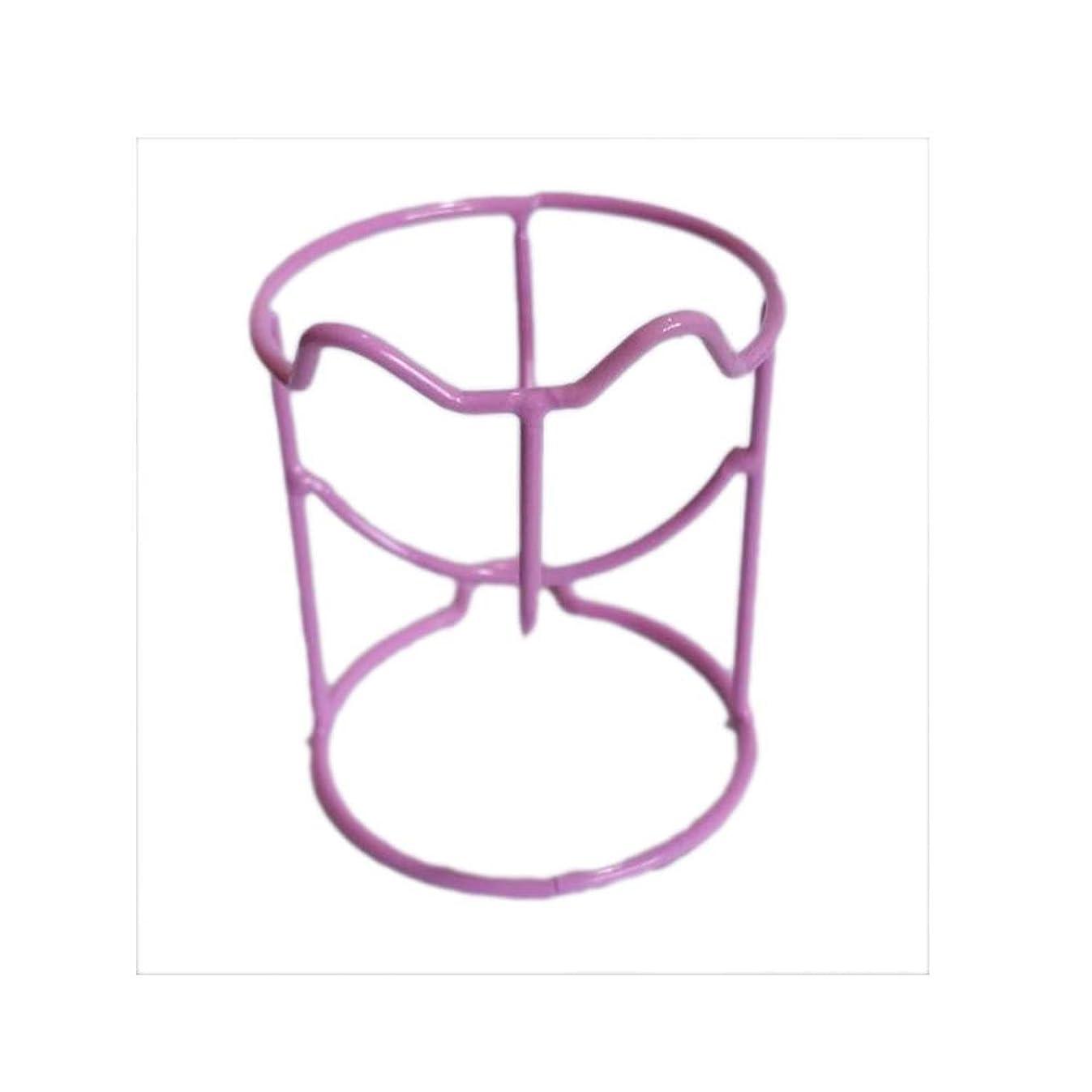 ストッキングとにかくウェーハ2乾燥ホルダーラックメイク卵パウダーパフスポンジディスプレイスタンドのセット