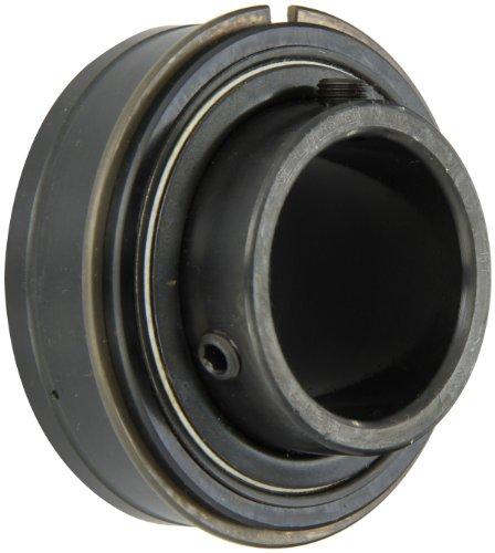 Sealmaster ER-31 Cylindrical OD Bearing, Setscrew Locking Collar, Light Contact Felt Seals, 1-15/16