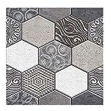 Adhesivo autoadhesivo para pared de azulejos 3D, para decoración del hogar, para cocina, baño,...