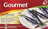 Gourmet - Sardinas - en aceite de girasol - 88 g
