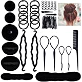 Lictin Chignon Materiale Accessori per Acconciature per Capelli Donne per Clip di Capelli, Rilievi,...