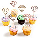 🌞 Bridal shower Cake Topper- Unique design, Diamond cake toppers set is best for wedding, birthday, baby shower party, bridal shower engagement party decorations. Order now! Let the Eye-catching decorations to celebrate your party, add more tasteful ...