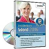 Word 2016 Insiderkurs - Powertraining für Fortgeschrittene | Lernen Sie Schritt für Schritt die effiziente Dokumentbearbeitung z.B. mit Vorlagen, Gliederungen und der Serienbrief-Funktion [1 Nutzer-Lizenz]
