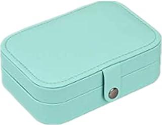 Deyooxi Scatole Portagioie Gioielli da Viaggio da Donna Organizzatore da Ragazza Custodia Piccola da Gioielleria, Blu Reale