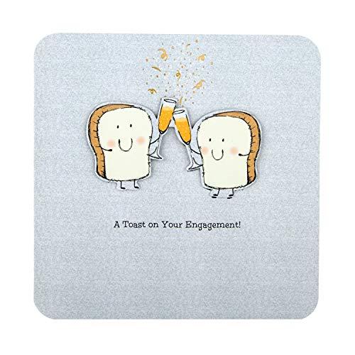 Engagement Congratulations Card from Hallmark - 3D Effect Design