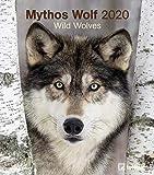 Mythos Wolf 2020 - Wandkalender - 30x34cm - Tierkalender - Wolfkalender - Fotokalender -