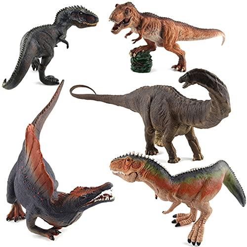 WWYYZ Figuras De Dinosaurio Jurásico De Simulación Juguete Kaiser Dragon Giganotosaurus Spinosaurus Apatosaurus Modelo Colección Juguete
