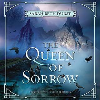 The Queen of Sorrow audiobook cover art