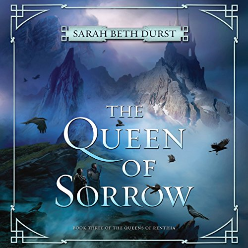 The Queen of Sorrow audiobook cover art