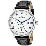 ルシアンピカール Lucien Piccard Men's LP-10339-023S Volos Analog Display Japanese Quartz Black Watch [並行輸入品]