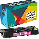 Do it Wiser Compatible Toner Cartridge Replacement for Ricoh SP C250DN SP C250SF SP C261SFN | 407541 (Magenta)