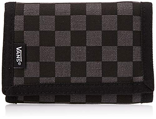 Vans Herren Geldtasche Slipped Luggage-Messenger Bag, Black/Gunmetal, 2 X 0.5 X 8 cm