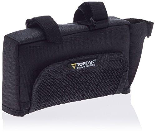 TOPEAK Unisex-Adult TriBag Rahmentasche, Black, Large (18 x 10.2 x 4 cm, 0.72 L)