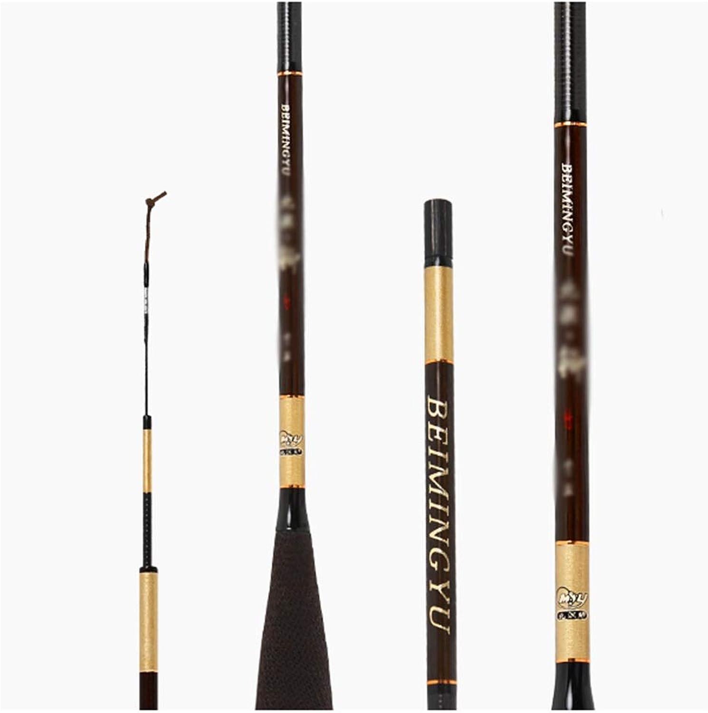 Fishing Rod 46 Adjustable UltraLight Ultrafine Super Hard Carbon Portable Telescopic Fishing Gear