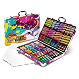 Crayola Inspiration Art Case in Pink, Gifts for Kids Age 5+, 140 Count