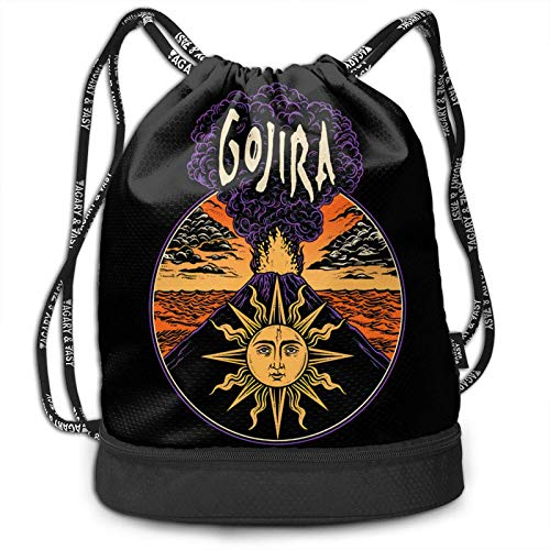 Gojira Fashion Multifunction Bundle Backpack Shoulder Bags Outdoor
