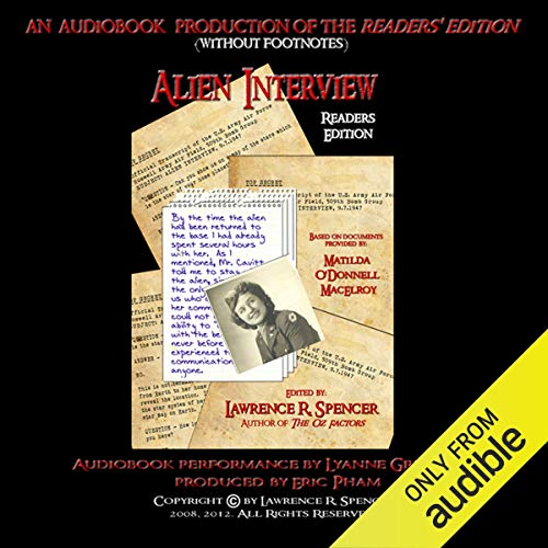 Alien Interview – Readers Edition Audiobook