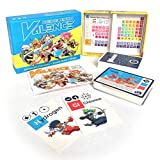 Science Ninjas : Valence Card Game- Advanced Chemistry + Simple Rules + Ninjas! Teach Kids How Molecules Form and Chemicals Interact!