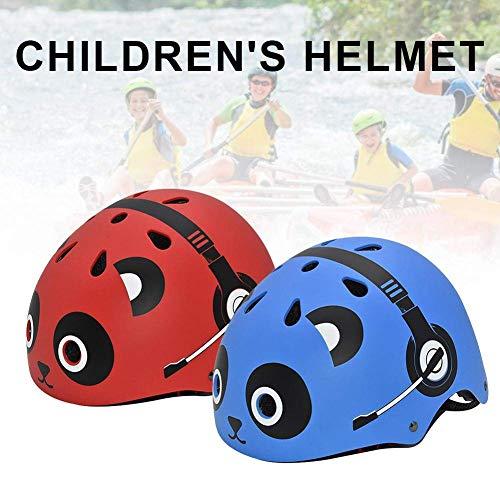 FENGLI Bonito casco de seguridad para niños para ciclismo, scooter, bicicleta, patineta,...