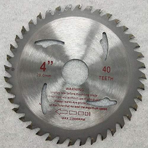 NLLeZ 1pc 4,5/4 Pouces 115mm 40 Dents Scie...
