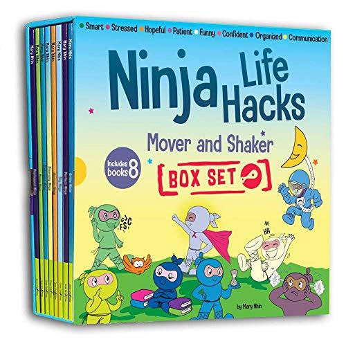 Ninja Life Hacks Mover and Shaker 8 Book Box Set (Books 25-32: Patient, Organized, Smart, Confident,