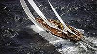 ジグソーパズル大人の子供パズル500ピース木製パズル 海でのヨットのセーリングユニークなギフトと家の装飾ジグソーパズル