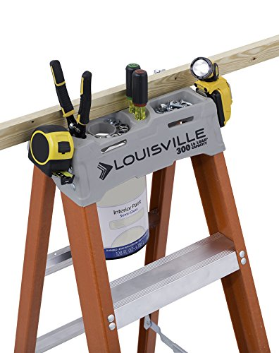 Louisville Ladder FS1523 FS1512 12' fiberglass ladder, 12 Feet, Orange