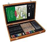 Derwent Academy 2300147- Set Colori Arte in Scatola di Legno...