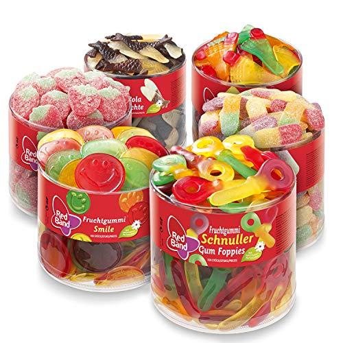 Red Band Fruchtgummi Sortimentspaket Dosen, 6er Pack (1 x 7kg)