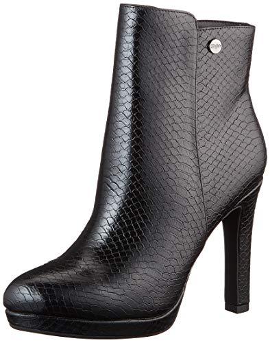 Buffalo Damen Roxana Stiefelette, Snake Black, 39 EU