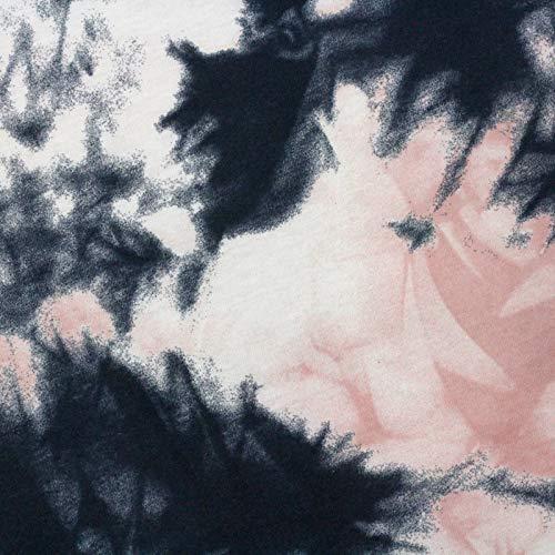 Neumann Handelsvertrieb Jersey Stoff 100% Baumwolle 165 cm Breit (50 x 165 cm, Batik Rosé)