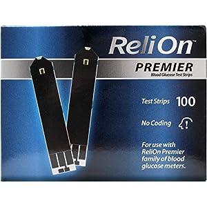 buy ReliOn Premier Blood Glucose Test Strips, 100 Ct Blood Glucose Monitors