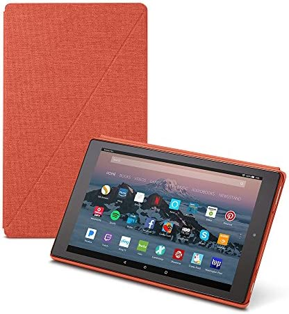 Amazon Fire HD 10 Tablet Case (7th Generation, 2017 Release), Punch Red